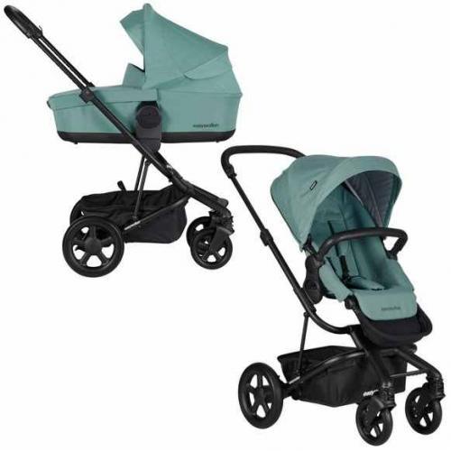 Easywalker Детска количка Harvey2 – Coral green 2 в 1/+3 подаръка!!!