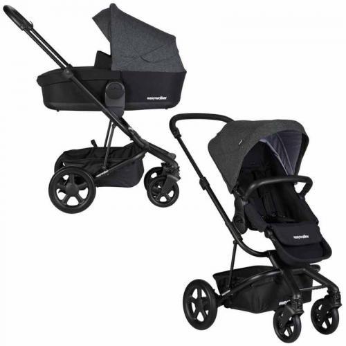 Easywalker Детска количка Harvey2 – NIGHT BLACK 2 в 1