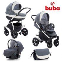 Бебешка количка 3в1 Buba Forester 595, сива