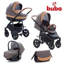 Бебешка количка 3в1 Buba Forester 597, тъмно кафява