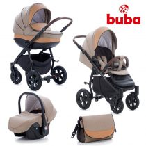 Бебешка количка 3в1 Buba Forester 598, бежова