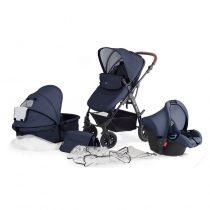 Бебешка количка 3в1 KinderKraft Moov, Синя