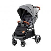 Бебешка количка KinderKraft Grande, Сива