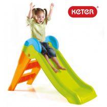 Детска пързалка Keter Boogie Slide, Зелена/Оранжева