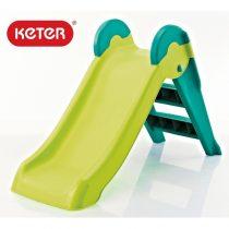 Детска пързалка Keter Boogie Slide, Зелена/Синя