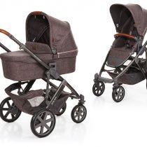 ABC Design Бебешка количка и твърд кош Salsa 4 walnut