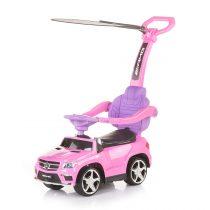 Кола с дръжка Chipolino MERCEDES BENZ GL63 AMG розова