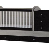Трансформиращо се детско легло Baby & Junior Дъб и Венге 120 x 70 см