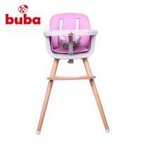 Столче за хранене Buba Carino, Розово