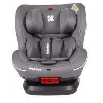 KIKKABOO Стол за кола 0-25 кг. TWISTER ISOFIX GREY