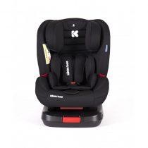 KIKKABOO Стол за кола 0-36 кг. 4 STRONG ISOFIX BLACK