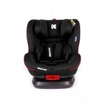 KIKKABOO Стол за кола 0-25 кг. TWISTER ISOFIX BLACK