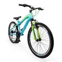 Велосипед със скорости 24″ B7 тюркоаз