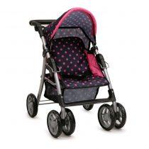 Детска количка за кукли Pinky dots – 9352
