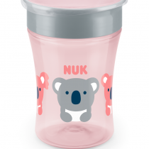 NUK EVOLUTION Magic Cup, 8+ мес. Girl NUK