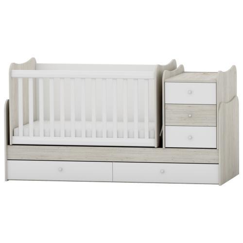 Arbor Трансформиращо се детско легло BABY & JUNIOR ГОБИ