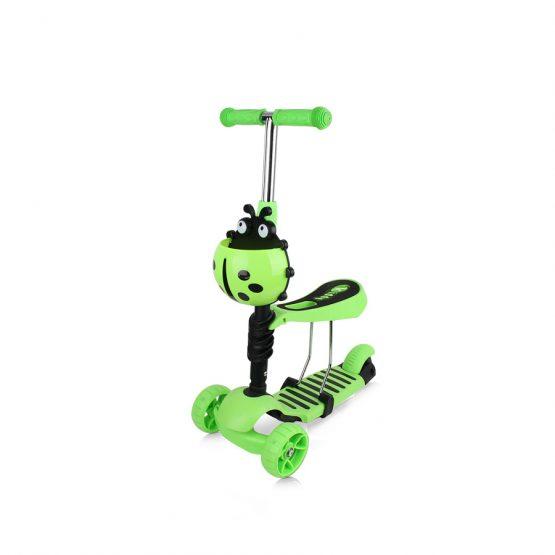 """Детски скутер """"Киди Ево"""" зелен"""