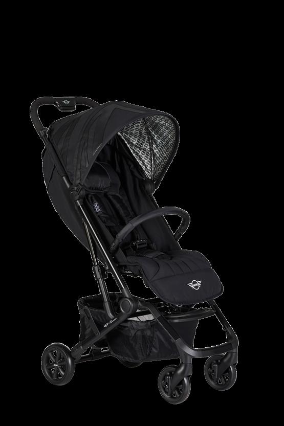 Детска количка MINI by Easywalker Buggy XS  Цвят-Oxford Black