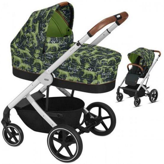 Cybex Бебешка количка 2 в 1 Balios S FE VALUES FOR LIFE Respect green