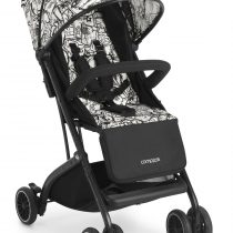 Детска количка Cam Compass 136 бяло/черно