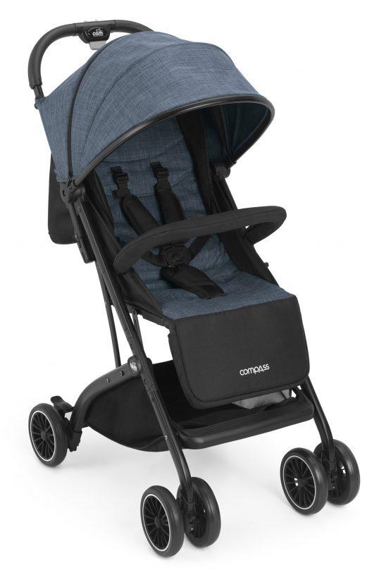 Детска количка Cam Compass 135 син меланж