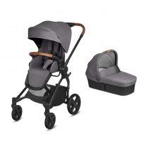 Бебешка количка Cybex CBX Kody Pure Lux Comfy Grey 2в1