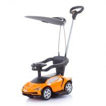Кола с дръжка,сенник Lamborghini оранжев