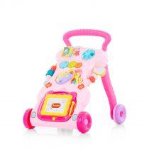 "Музикална играчка на колела""Funny""розова"