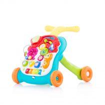 """Музикална играчка на колела 2 в1 """"Мулти""""зелена"""
