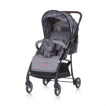 Детска количка Елеа сив лен