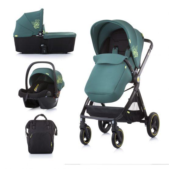 """Детска количка до 22 кг """"Елит"""" бор"""