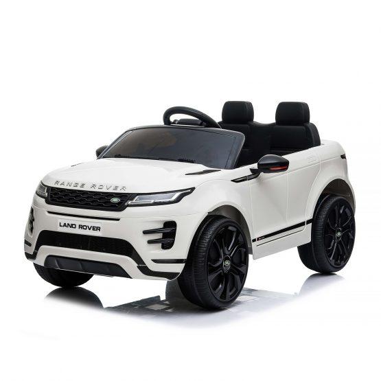 Електрическа кола SUV Range Rover Evoque – бяла