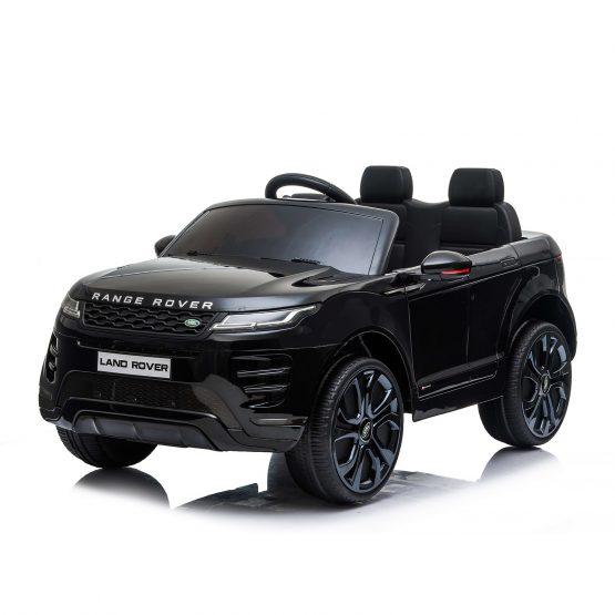 Електрическа кола SUV Range Rover Evoque – черна